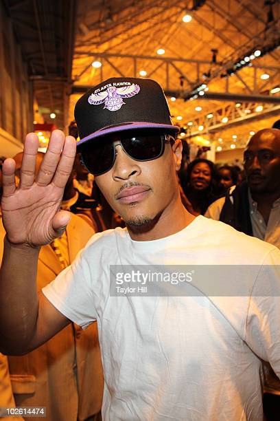 Clifford 'TI' Harris attends the 2010 Essence Music Festival at the Ernest N Morial Convention Center on July 3 2010 in New Orleans Louisiana