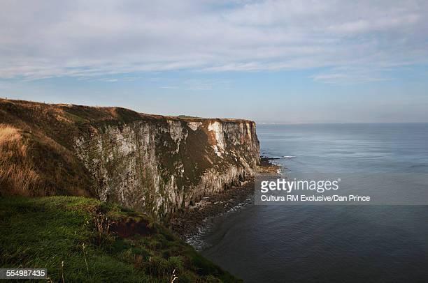 Cliffs and coastline, Flamborough Head, UK