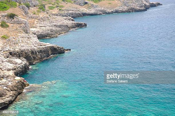 Cliffs and Ionian sea, Salento district
