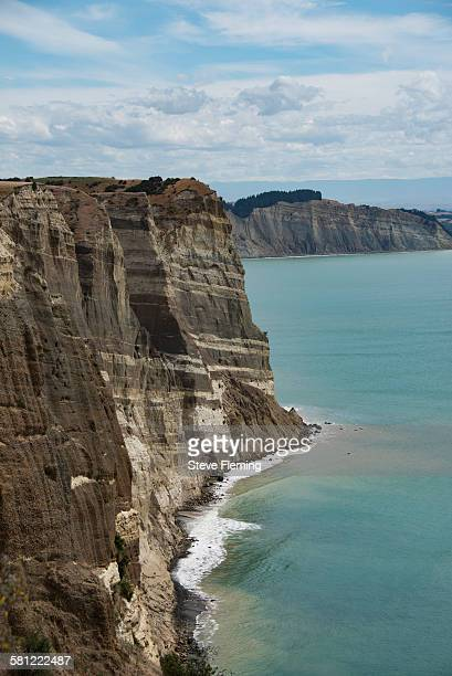 Cliffs at Cape Kidnappers, New Zealand