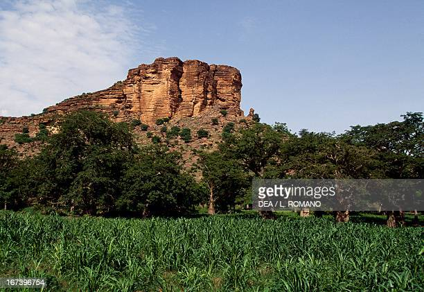 Cliffs Dogon region Mali