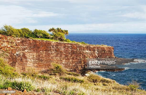 Cliffs of Lanai Hawaii