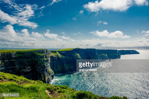 Cliffs Of Moher In Ireland : Stock Photo