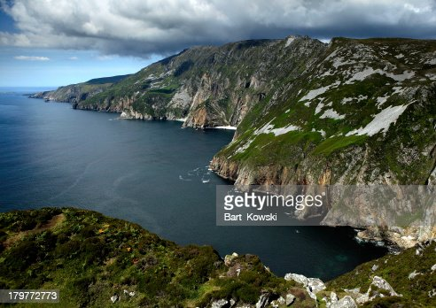 Cliffs of Slieve in County Donegal, Ireland : Stock Photo