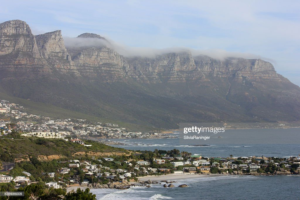 Clifton Beach with Apostles, Cape Town, South Africa : Stock Photo