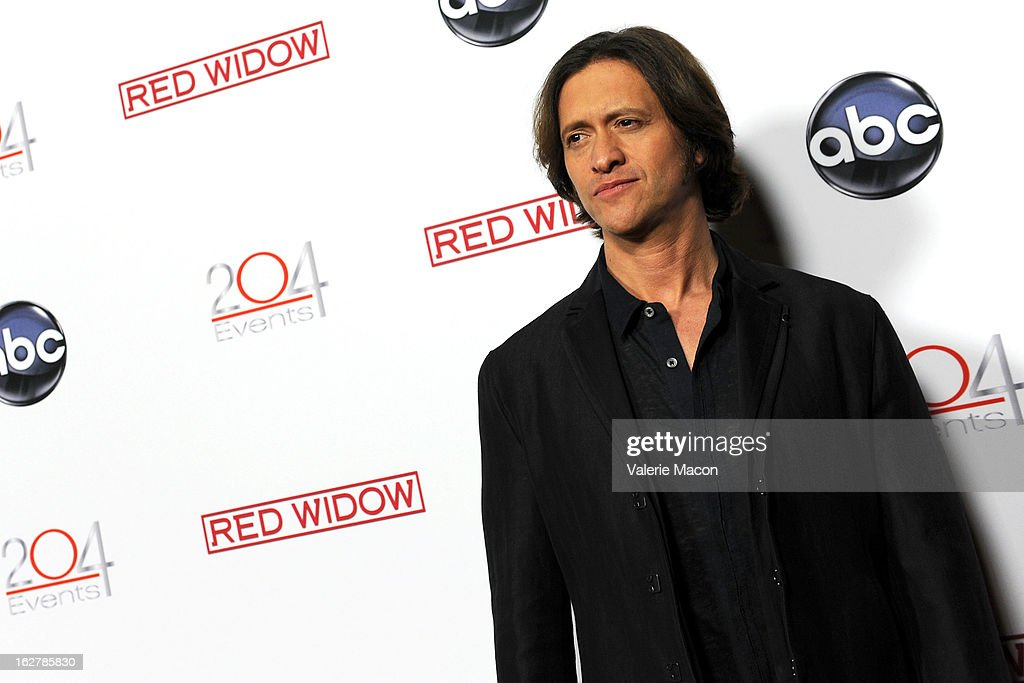 Clifton Collins attends ABC's 'Red Widow' Red Carpet Event at Romanov Restaurant Lounge on February 26, 2013 in Studio City, California.