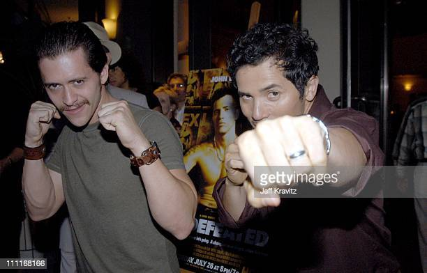 Clifton Collins Jr and John Leguizamo *Exclusive*