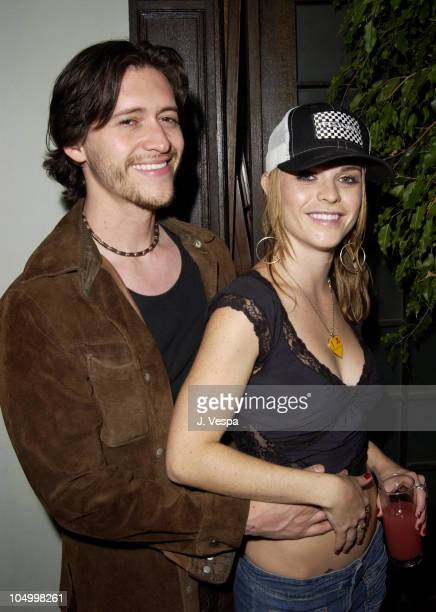 Clifton Collins Jr and Taryn Manning during Maxim Hot 100 Party Inside at Yamashiro in Hollywood California United States