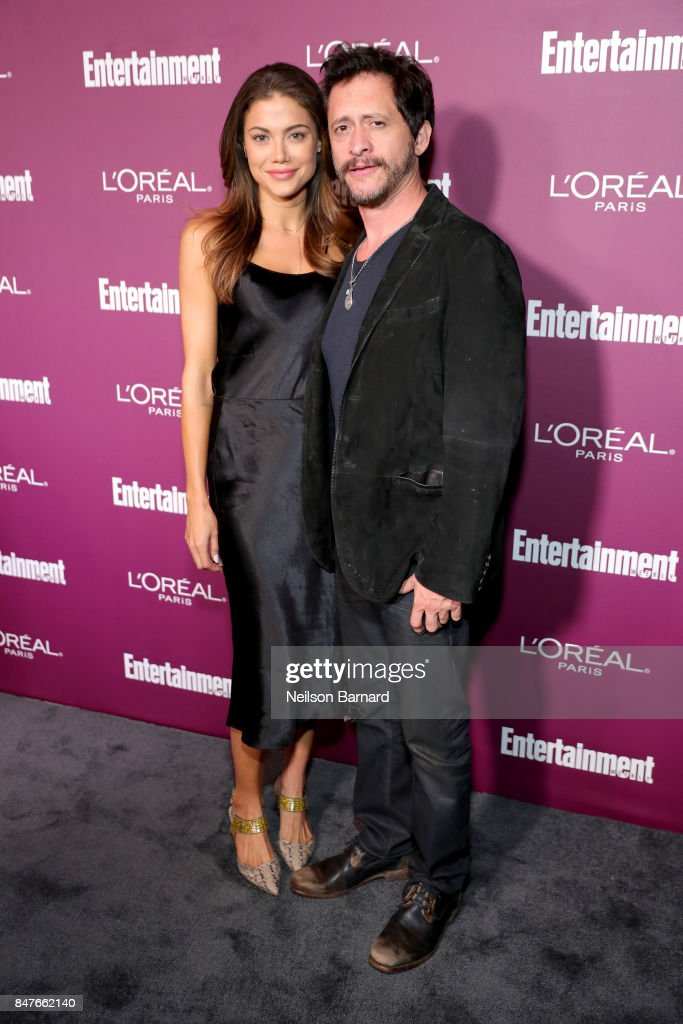 Clifton Collins Jr. (L) attends the 2017 Entertainment Weekly Pre-Emmy Party at Sunset Tower on September 15, 2017 in West Hollywood, California.