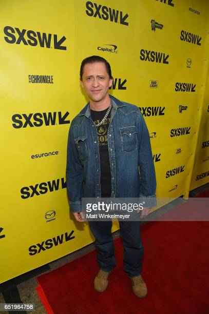 Clifton Collins Jr attends the 'Song To Song' premiere 2017 SXSW Conference and Festivals at Paramount Theatre on March 10 2017 in Austin Texas