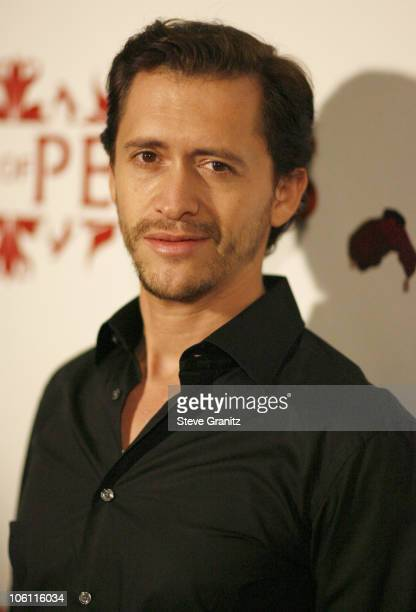 Clifton Collins Jr during House of Petals presents Harlottique Hosted by Eddie Van Halen at House of Petals in Los Angeles California United States