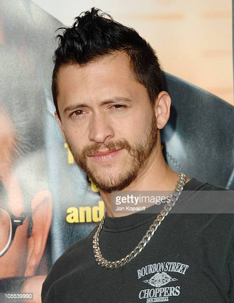 Clifton Collins Jr during 'The Man' Los Angeles Premiere Arrivals at ArcLight Cinerama Dome in Hollywood California United States