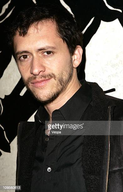 Clifton Collins Jr during Volkswagen 2006 Annual Hollywood Party at Getty Center in Los Angeles California United States