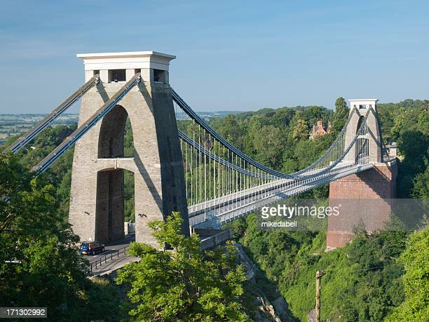 Clifton suspension bridge.