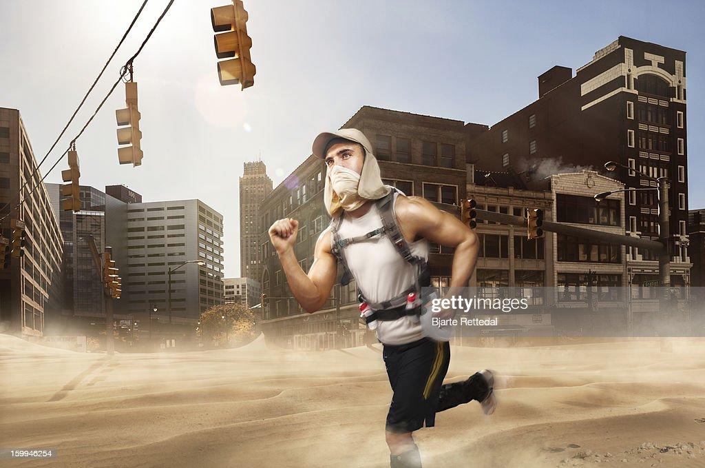 Climatechange Detroit : Stock Photo