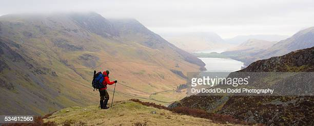 Climber and Buttermere