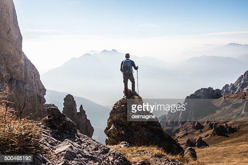 クライマーズハイは、最上階からの眺め、山の