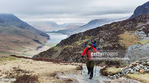 Climber in Lake District