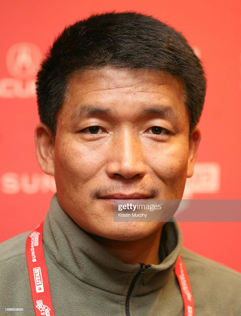 Climber Pemba Gyalje Sherpa attends 'The Summit' Premiere at Egyptian Theatre on January 18, 2013 in Park City, Utah.