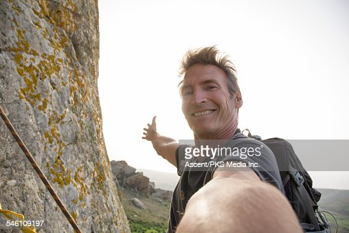 Man holiday selfie stock photos and pictures getty images for Creative selfie wall