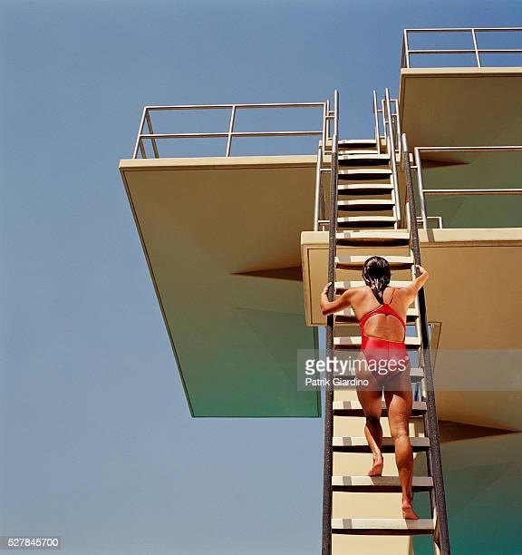 Climbing Diving Platform