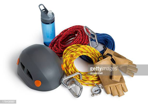 Climbing Equipment Isolated on White