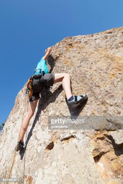 Klettern steil