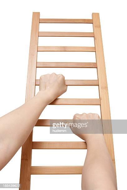 Escalade l'échelle (Tracé de détourage)