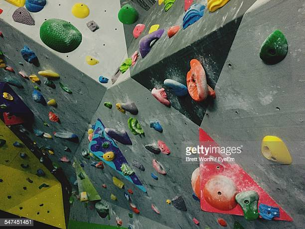 Climbing Wall In Health Club