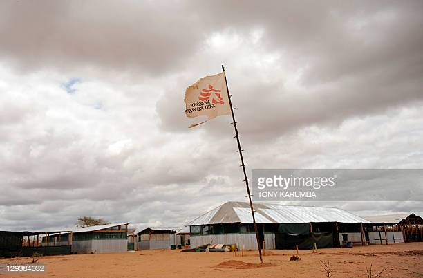 A clinic run by MedecinsSansFrontieres is abandoned on October 16 2011 at Kenya's Dadaab refugee camp where two Spanish aid workers were seized by...