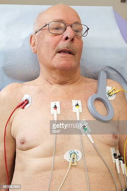 Clinical research in the GHICL Cardiology department at St Vincent de Paul hospital in Lille France ECG and pacemaker data monitoring in an elderly...