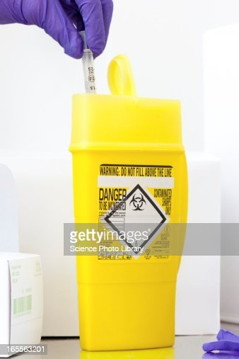 Clinical waste disposal