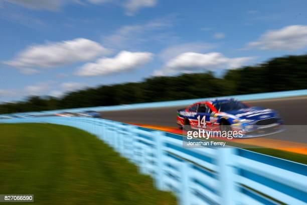 Clint Bowyer driver of the Five Star Urgent Care Ford drives during the Monster Energy NASCAR Cup Series I Love NY 355 at The Glen at Watkins Glen...