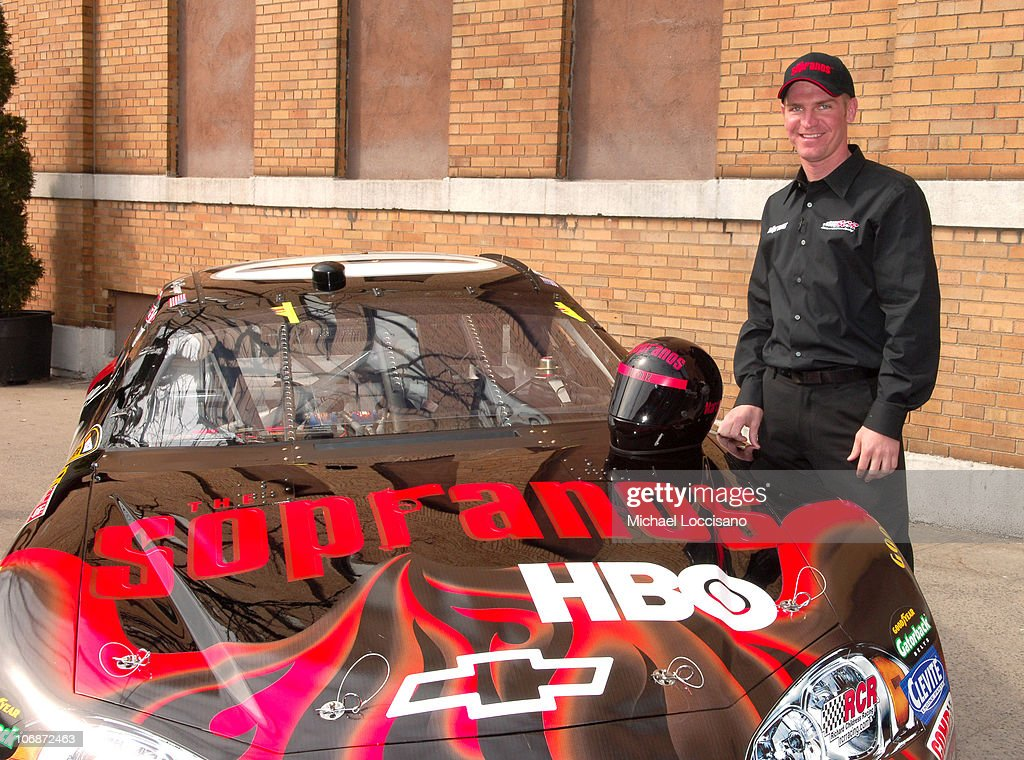 <a gi-track='captionPersonalityLinkClicked' href=/galleries/search?phrase=Clint+Bowyer&family=editorial&specificpeople=537951 ng-click='$event.stopPropagation()'>Clint Bowyer</a> during The Cast of 'The Sopranos' Joins <a gi-track='captionPersonalityLinkClicked' href=/galleries/search?phrase=Clint+Bowyer&family=editorial&specificpeople=537951 ng-click='$event.stopPropagation()'>Clint Bowyer</a> in Unveiling the NASCAR Sopranos Car at SilverCup Studios in Queens, New York, United States.
