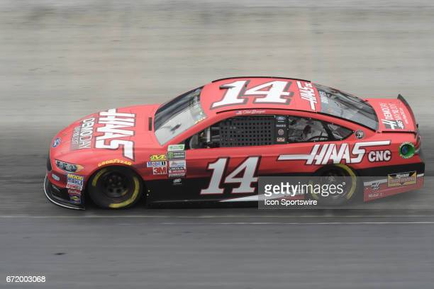 Clint Bowyer StewartHass Racing Haas Automation Demo Days Ford Fusion Fusion during practice for the Monster Energy Cup Series on April 21 at Bristol...