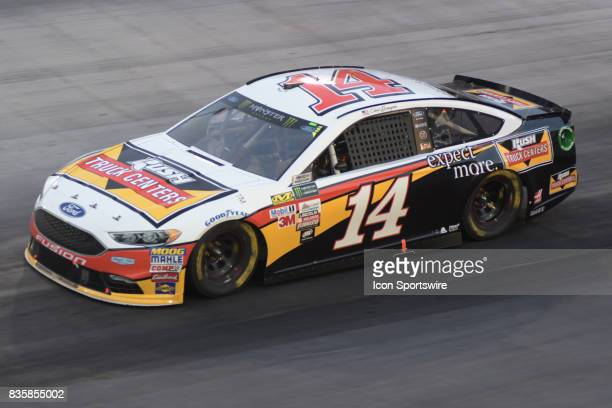 Clint Bowyer StewartHass Racing Rush Truck Centers Ford Fusion Fusion during the NASCAR Monster Energy Cup Series Bass Pro Shops NRA Night Race on...