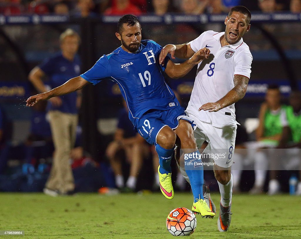 ... during the 2015 CONCACAF Gold Cup Group A match between USA and