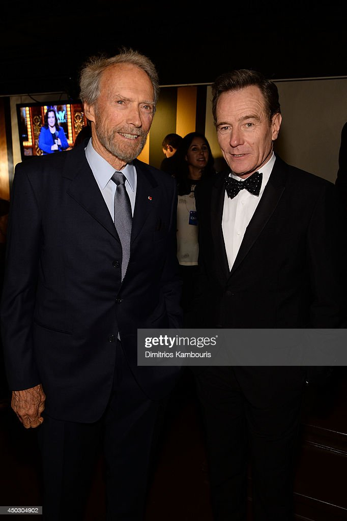 <a gi-track='captionPersonalityLinkClicked' href=/galleries/search?phrase=Clint+Eastwood&family=editorial&specificpeople=201795 ng-click='$event.stopPropagation()'>Clint Eastwood</a> and <a gi-track='captionPersonalityLinkClicked' href=/galleries/search?phrase=Bryan+Cranston&family=editorial&specificpeople=217768 ng-click='$event.stopPropagation()'>Bryan Cranston</a> attend the 68th Annual Tony Awards at Radio City Music Hall on June 8, 2014 in New York City.