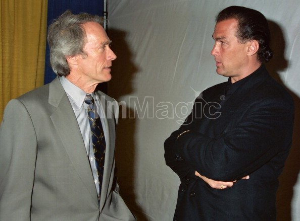 Clint Eastwood and Steven Seagal...