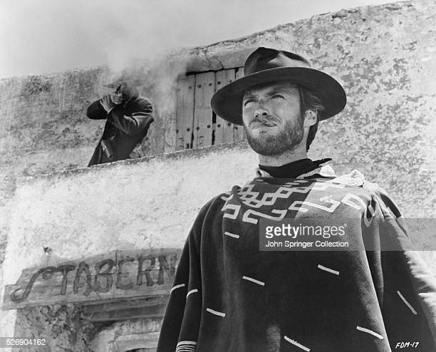 Clint Eastwood as The Man With No Name in the 1965 Italianmade Western For a Few Dollars More