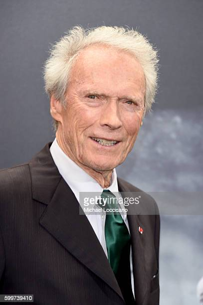 Clint Eastwood attends the 'Sully' New York Premiere at Alice Tully Hall on September 6 2016 in New York City