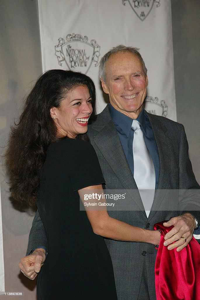Clint Eastwood, Dina Ruiz during The National Board of Review Awards Gala at Tavern on the Green in New York, New York, United States.