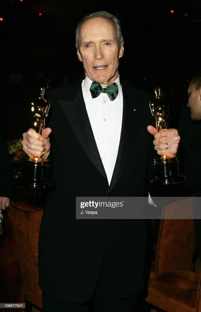 Clint Eastwood during The 77th Annual Academy Awards - Governors Ball at Kodak Theatre in Hollywood, California, United States.