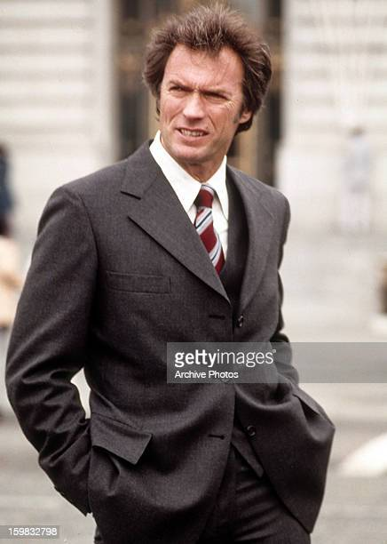 Clint Eastwood in a scene from the film 'Dirty Harry' 1971