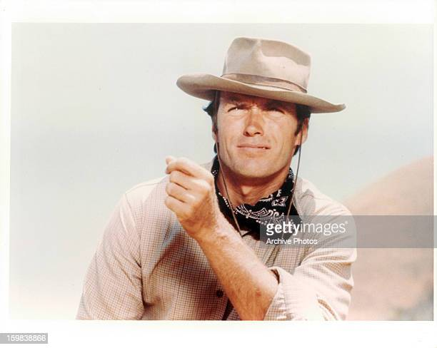 Clint Eastwood in a scene from the television series 'Rawhide' Circa 1962