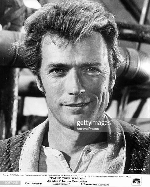 Clint Eastwood publicity portrait for the film 'Paint Your Wagon' 1969