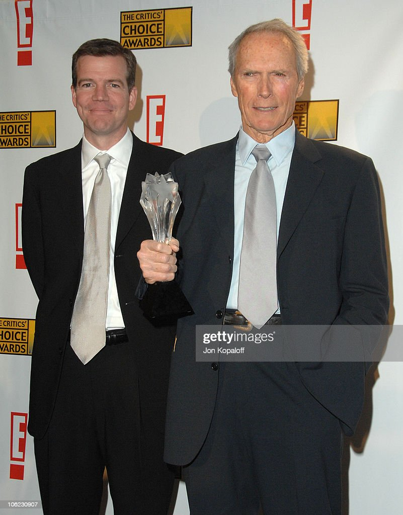 <a gi-track='captionPersonalityLinkClicked' href=/galleries/search?phrase=Clint+Eastwood&family=editorial&specificpeople=201795 ng-click='$event.stopPropagation()'>Clint Eastwood</a> (right), winner Best Foreign Language Film for 'Letters from Iwo Jima' and guest
