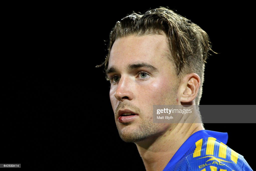 Clint Gutherson of the Eels looks on during the NRL Trial match between the Penrith Panthers and Parramatta Eels at Pepper Stadium on February 18, 2017 in Sydney, Australia.