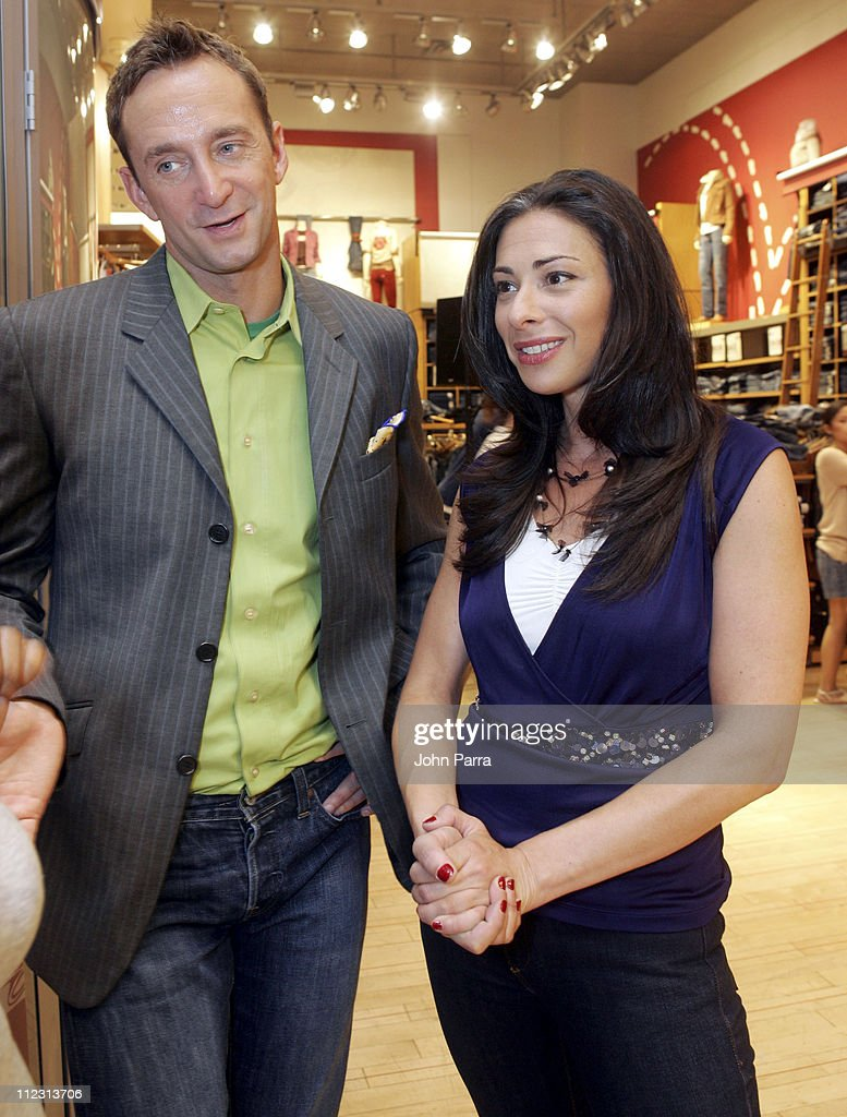 Clinton Kelly and Stacy London during Levi's 'Fit Experience' Launch at Levi's Store in New York City New York United States