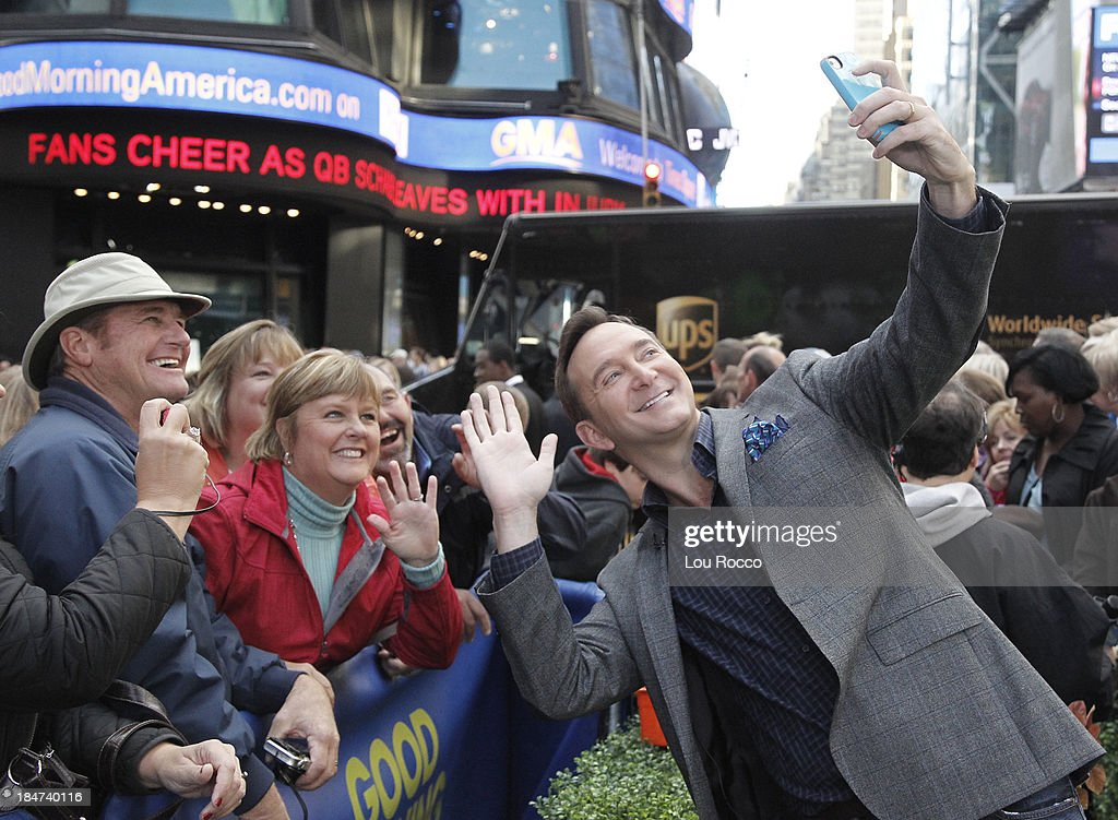 AMERICA - Clinton Kelly is a guest on 'Good Morning America,' 10/14/13, airing on the ABC Television Network. CLINTON